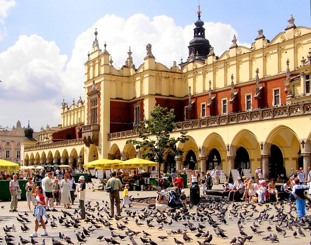 Sukiennice - Main Square-Krakow